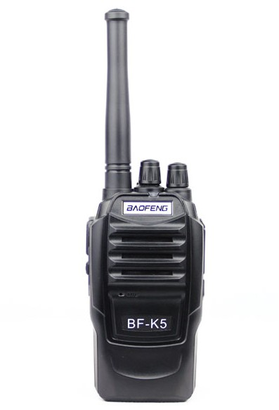 Baofeng BF-K5 (black) handheld walkie-talkie