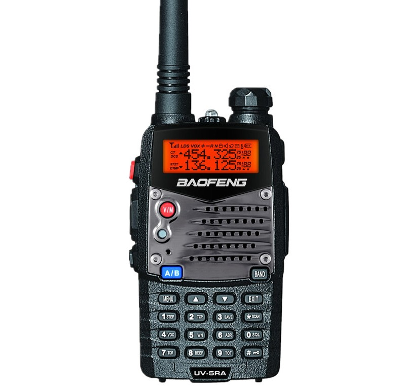Baofeng UV-5RA (black) handheld walkie-talkie