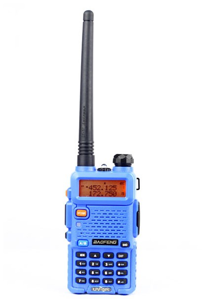 Baofeng UV-5R (Blue) handheld walkie-talkie