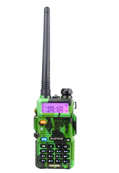 Baofeng UV-5R (Camo) handheld walkie-talkie