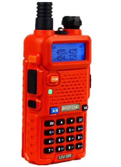 Baofeng UV-5R (RED) handheld walkie-talkie