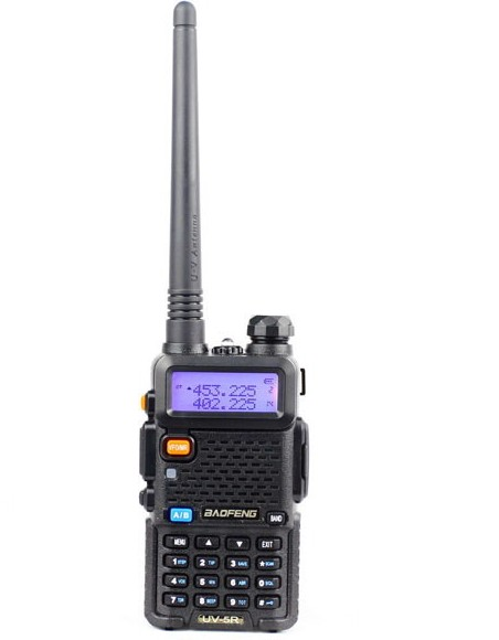 Baofeng UV-5R (black) handheld walkie-talkie