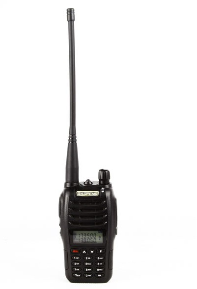 Baofeng UV-B6 (black) handheld walkie-talkie