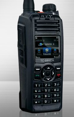 HYT TC880GM Seguridad walkie talkie portátil