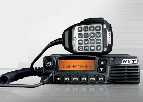 HYT TC780GM Seguridad walkie talkie Coche