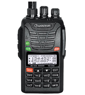 WOUXUN KG-UV6D personal walkie-talkie